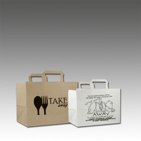 Buste Carta Take Away - Mini Ordini
