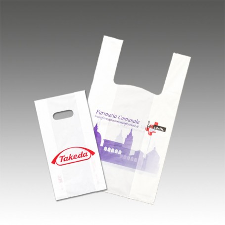 Buste Biodegradabili Farmacia Personalizzate
