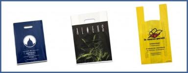 Buste Personalizzate in plastica Online:  Shopper con logo online