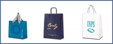 Buste Personalizzate in carta Online:  Shopper personalizzati in carta