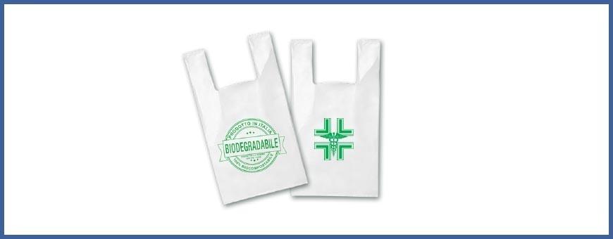 Shopper e buste in plastica biodegradabili online in pronta consegna