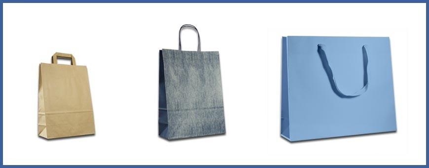 Buste Carta online in pronta consegna: shopper e sacchetti online.