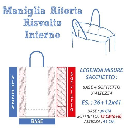 Buste Carta Risvoltate Mini Ordini