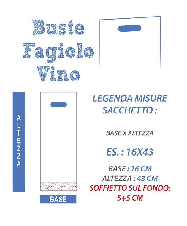 Buste Plastica Stampate Vino